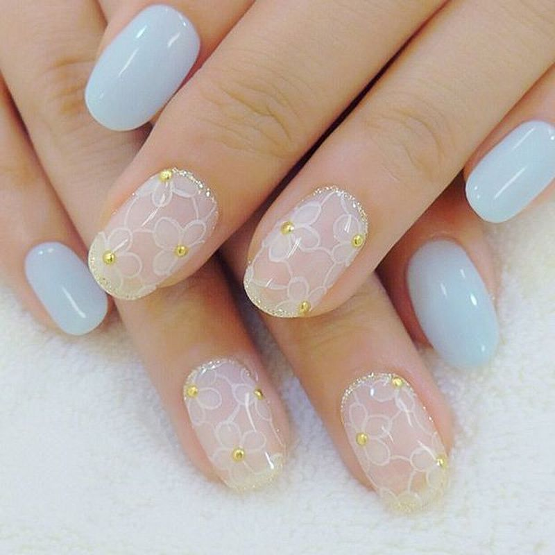 22 Beautiful Japanese Nail Art Designs Fashion Star Japanese Nail Design Wedding Nail Art Design Japanese Nails