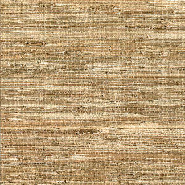 James Meho Neutral Grasscloth Wallpaper in 2020