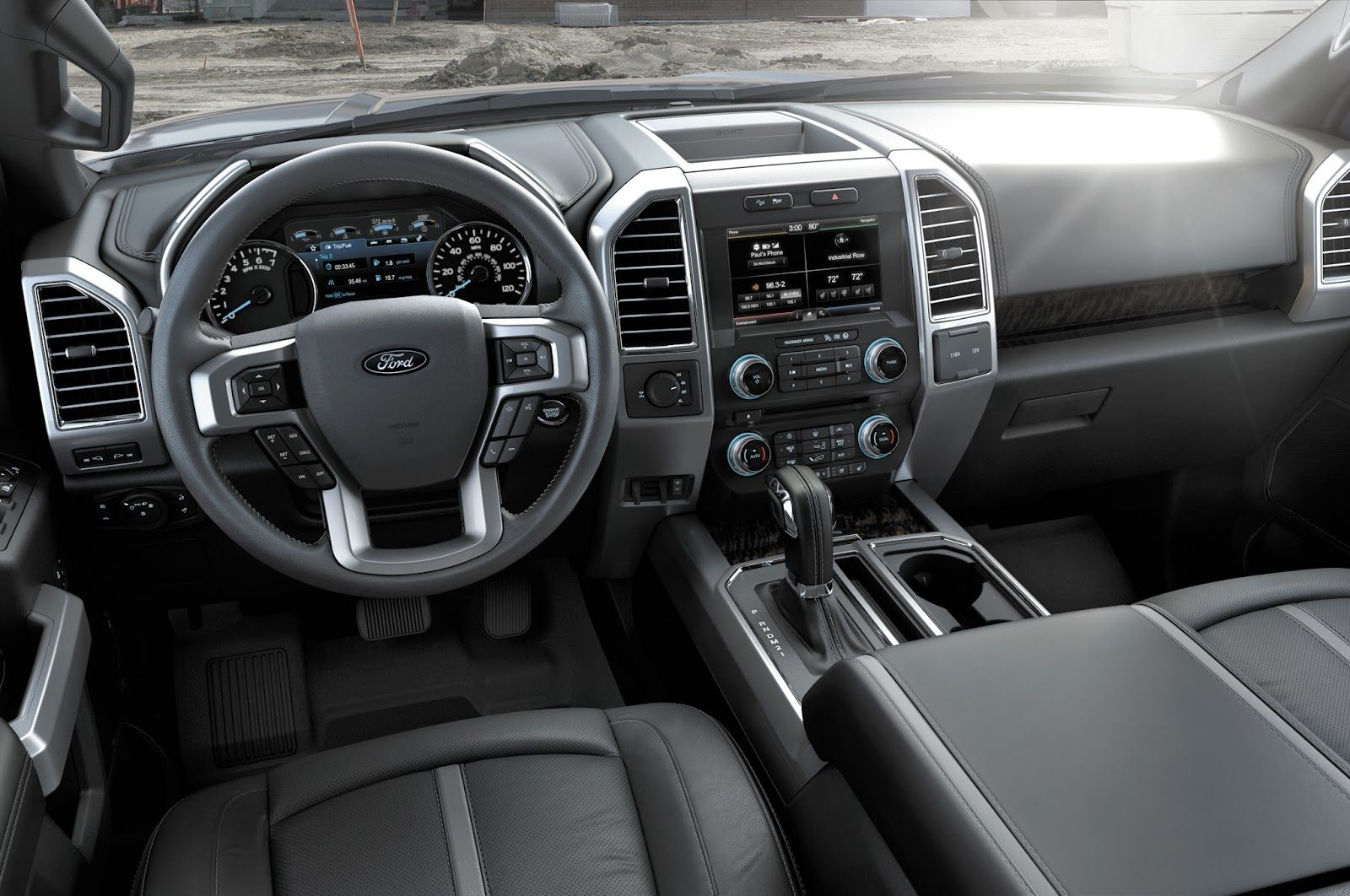 2016 Ford F150 Interior With Images Ford F150 Interior Ford F150 2015 Ford F150