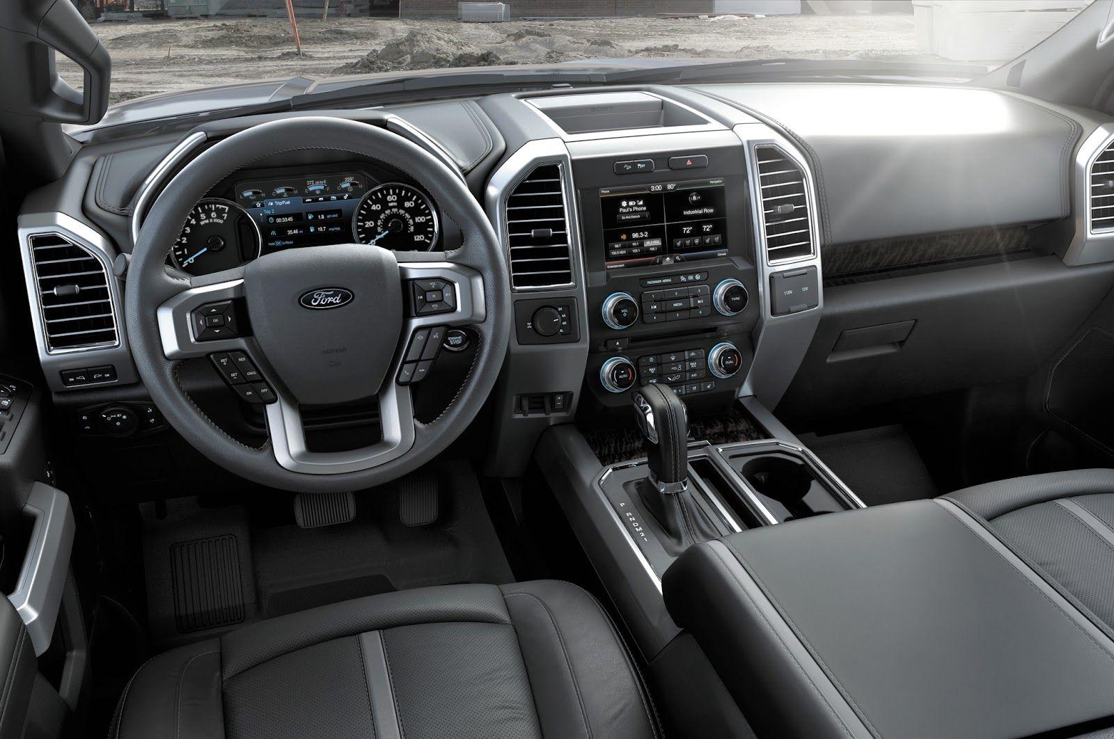 2016 Ford F150 Interior Met Afbeeldingen Auto Auto S En