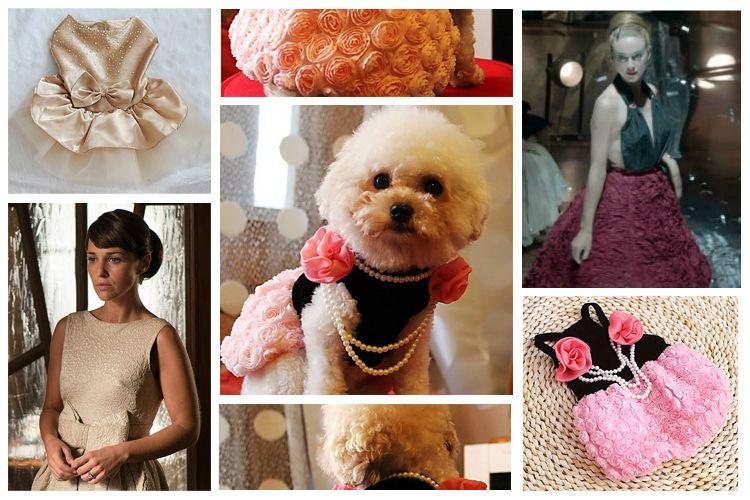 Vestidos Velvet – La moda de los 50 para perros