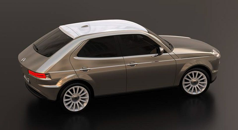 Retro Fiat 127 Design Prototype Shines Con Immagini