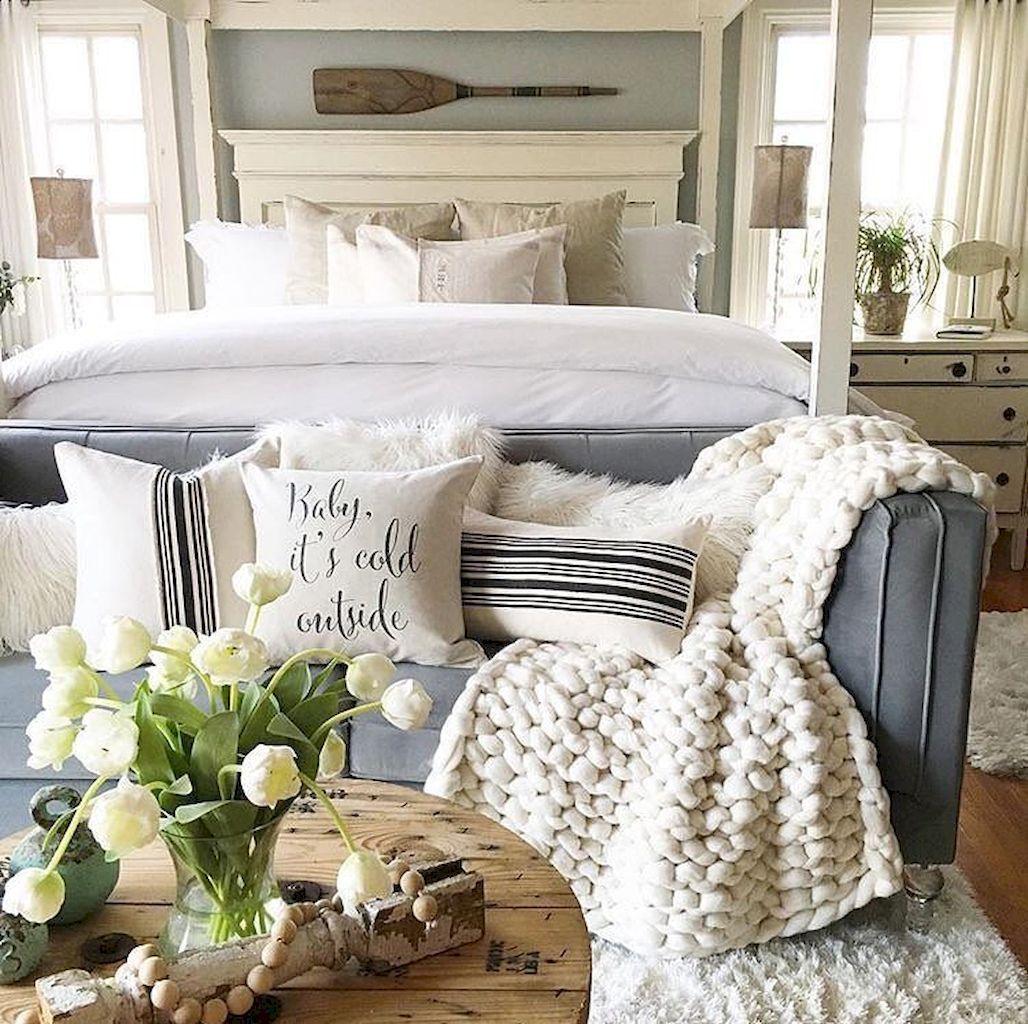 Romantic Bedroom (29)   Coastal master bedroom, Master ...