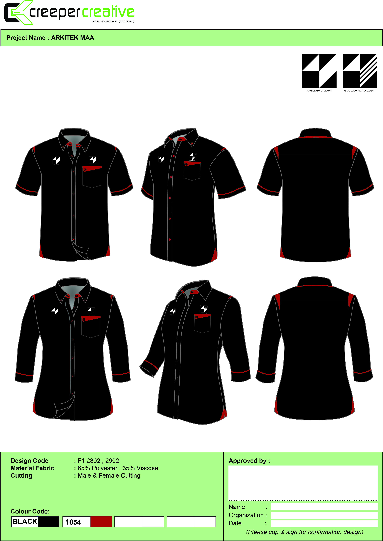 Template 2802 2902 Corporate Shirt Cs 39 Corporate Shirts
