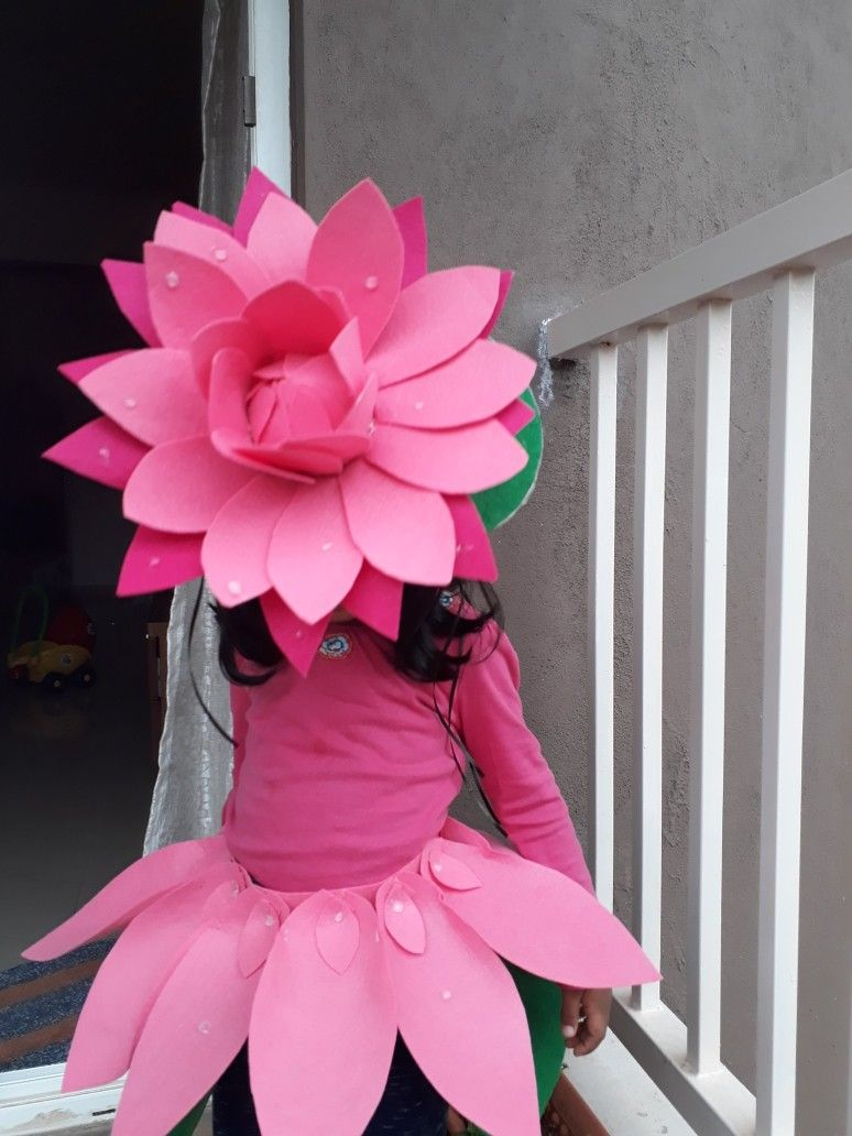 Lotus Costume For Kid Graduation Ideas Disfraces En Familia