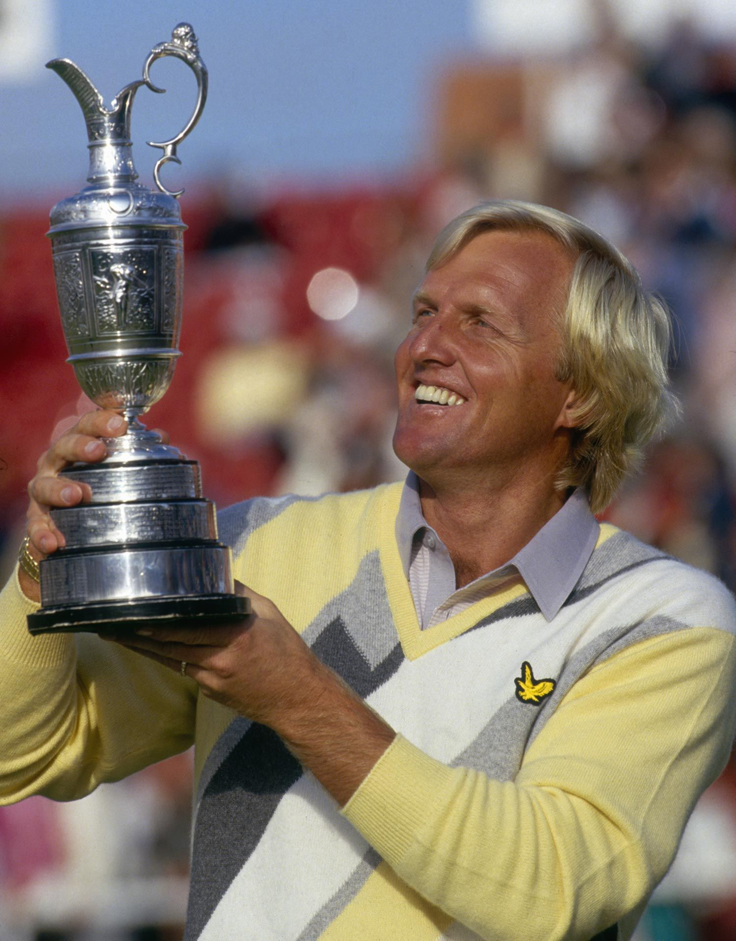 Greg Norman 1986 British Open Golf Quotes Golf School Golf Rules