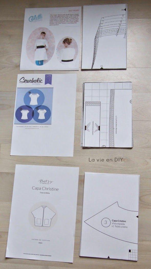Cómo cortar patrones digitales super rápido | costura | Pinterest ...