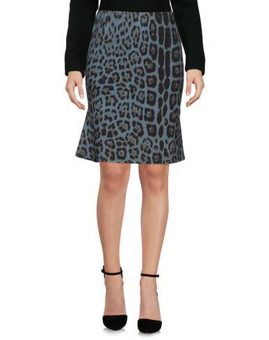 ROBERTO CAVALLI Knee Length Skirt. #robertocavalli #cloth #dress #top #skirt #pant #coat #jacket #jecket #beachwear #