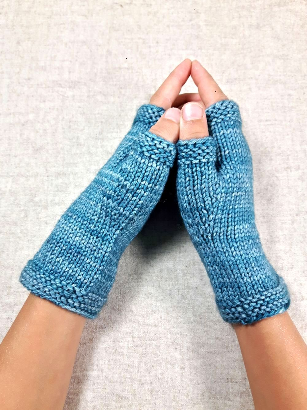 Handschuhe für Kinder, Petrol, ab 7 Jahre | Fingerhandschuhe, Petrol ...