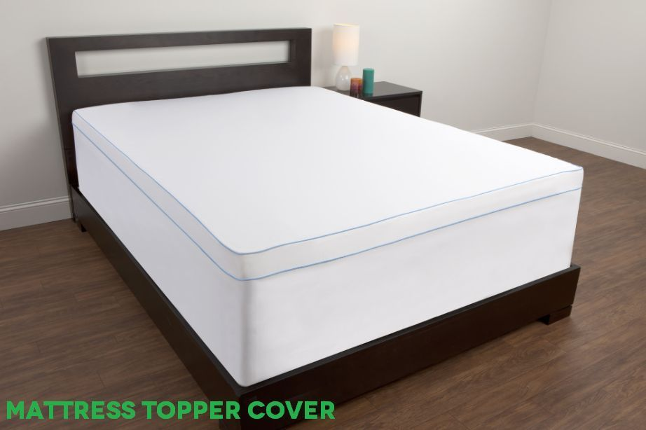 Details About Memory Foam Mattress Topper 2 Inch Pad Bed Cover
