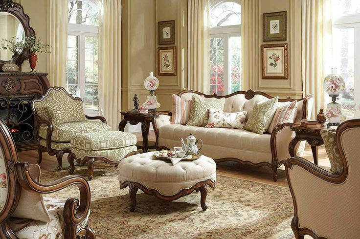 Vintage Living Room Designs That Youll Love | French Country ...