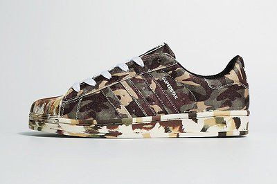 the latest 1e667 023f7 Adidas Superstar Army Camo Runing Shoes