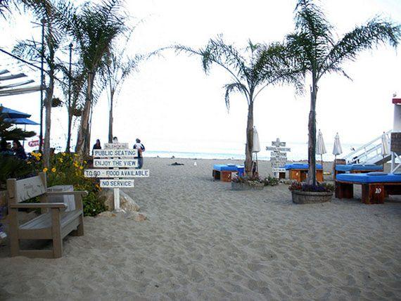 Paradise Cove Beach Cafe Malibu California