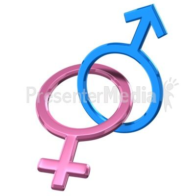An Image Of The Male And Female Gender Symbol Locked Together Powerpoint Clipart Illustrations Clip Art Symbols Powerpoint