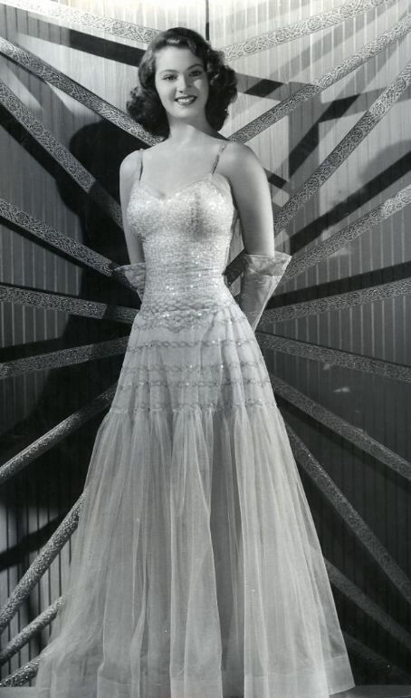 1950 S Prom Dress Back In The Day Vintage Fashion