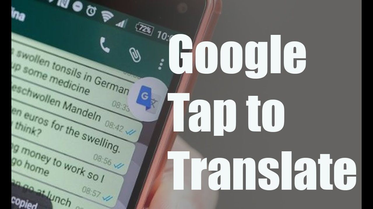 How To Enable Google Translate Button On Whatsapp Youtube Nel 2020