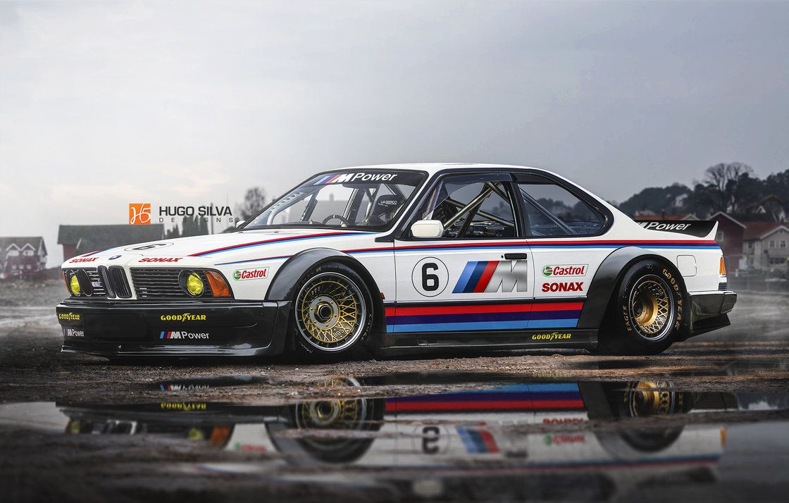 BMW M635 CSL race car by hugosilva.deviantart.com on @DeviantArt