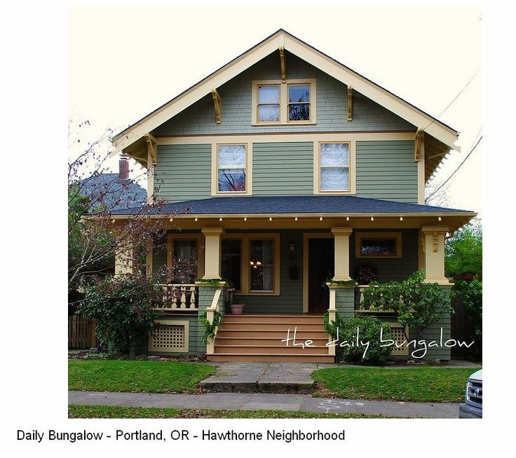 Merveilleux Narrow 2 Story Craftsman House   Google Search. Craftsman Style HomesCraftsman  HousesExterior ...