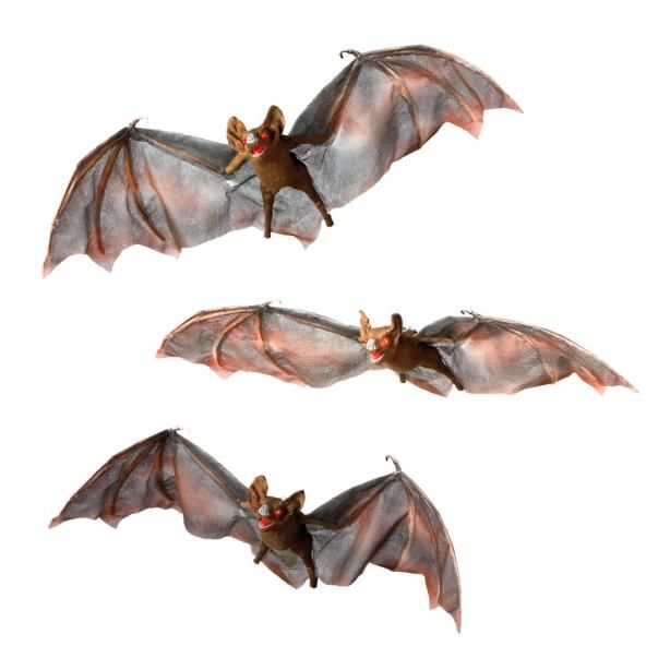 Halloween Bats with Flashing Eyes, Set of Three Halloween Pinterest