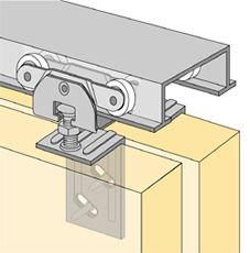 System 72118 Sliding Door Hardware Bi Passing Sliding Door Hardware Sliding Doors Door Hardware