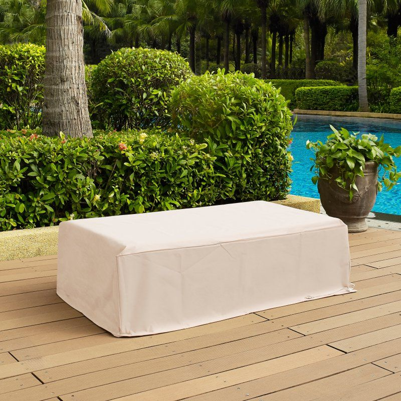 Crosley Outdoor Rectangular Table Cover 48x26 In Co7502 Ta