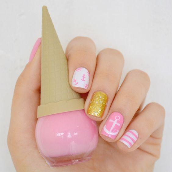 Depois Dos Quinze  nail art