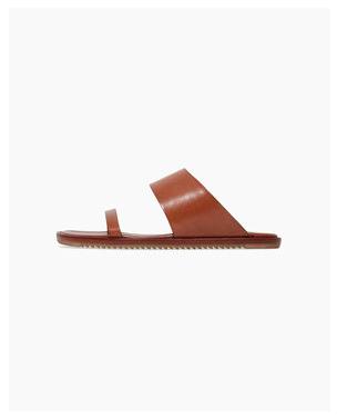 RICK OWENS Two-Strap Sandal, $918.00