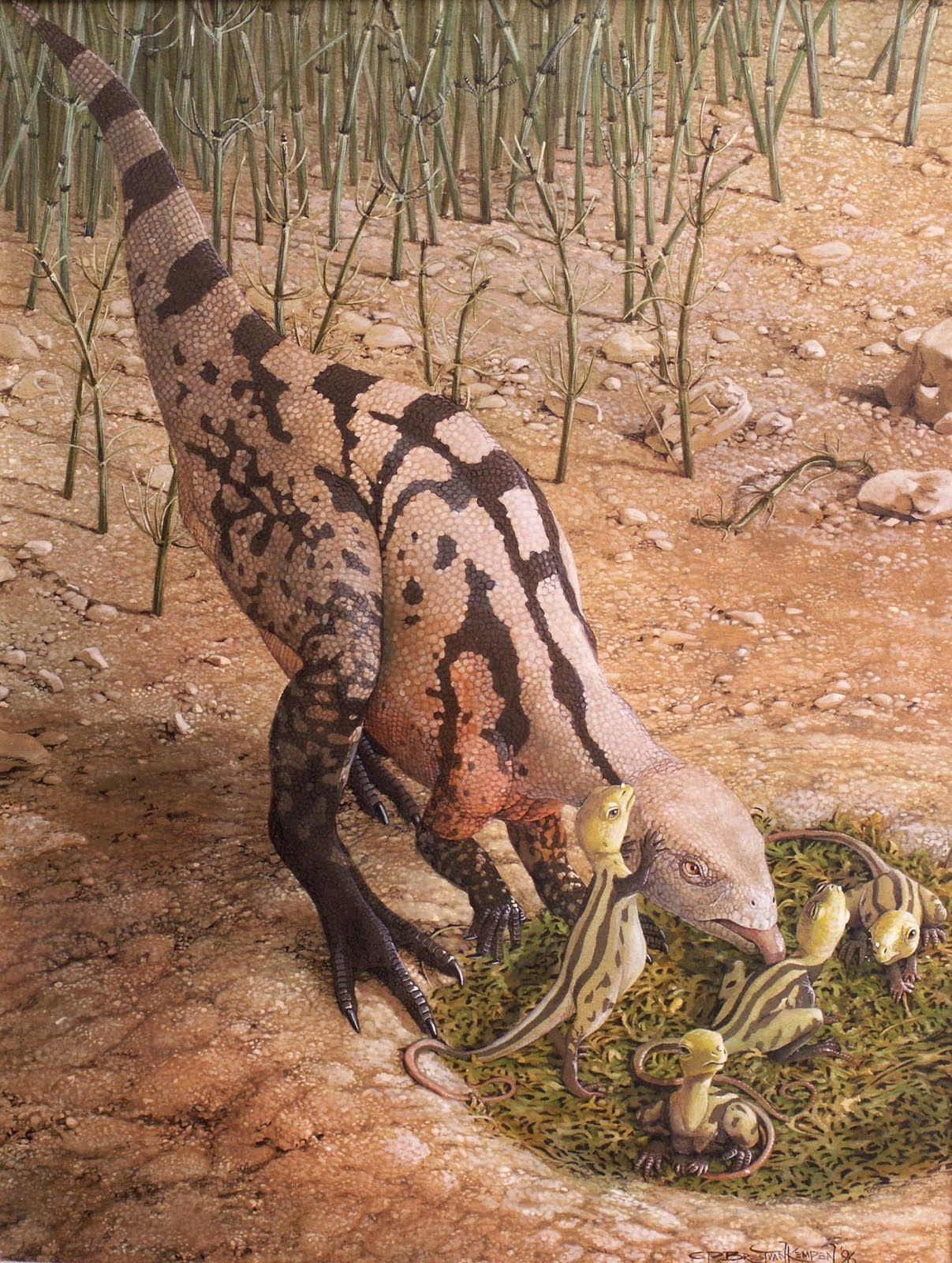 Dryosaurus So Cute An Ornithopod Dinosaur In The Dinosaurs And