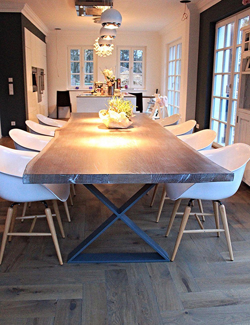 massivholztisch eichentisch esstisch holztisch designtisch aus ma holzwerk hamburg haus. Black Bedroom Furniture Sets. Home Design Ideas