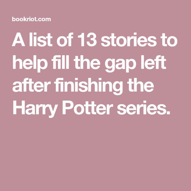 Fill my gap 13