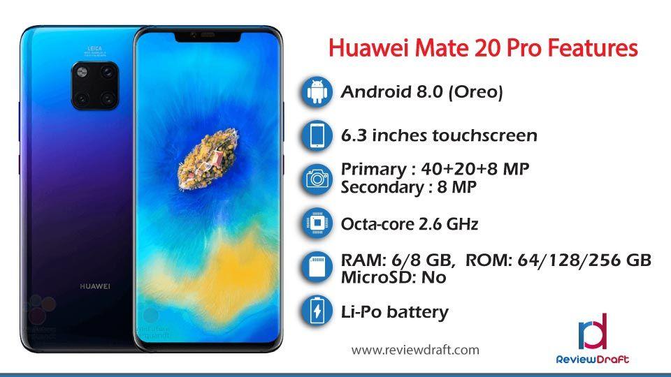 Huawei Mate 20 Pro Price In Bangladesh Specification Huawei