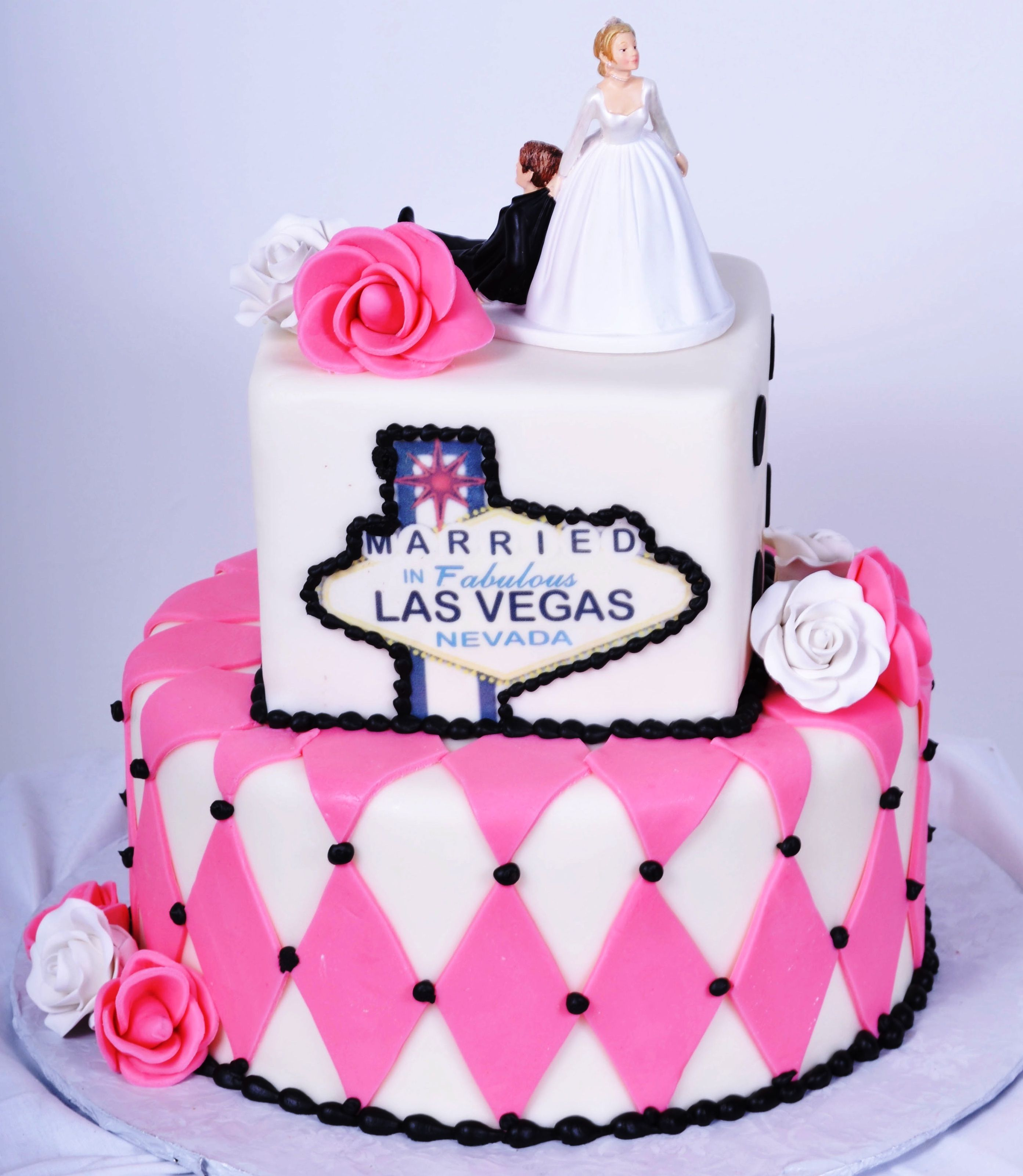 Pastry Palace Las Vegas - Wedding Cake #714 – Married in Fabulous ...