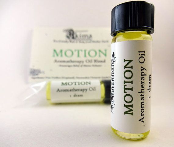 MOTION  Aromatherapy Oil Blend to encourage relief of motion sickness by AkimaBotanicals, $3.00