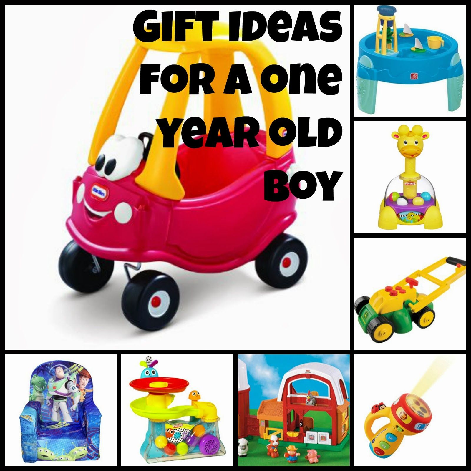 1 Year Old Christmas Gift Ideas