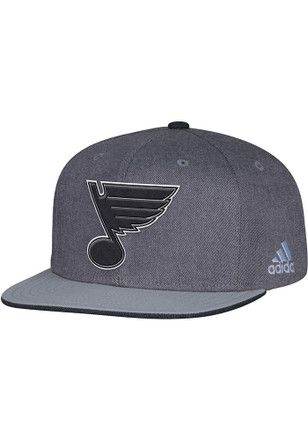 sports shoes 21be5 015d5 Adidas St Louis Blues Grey Travel   Traning Snapback Hat