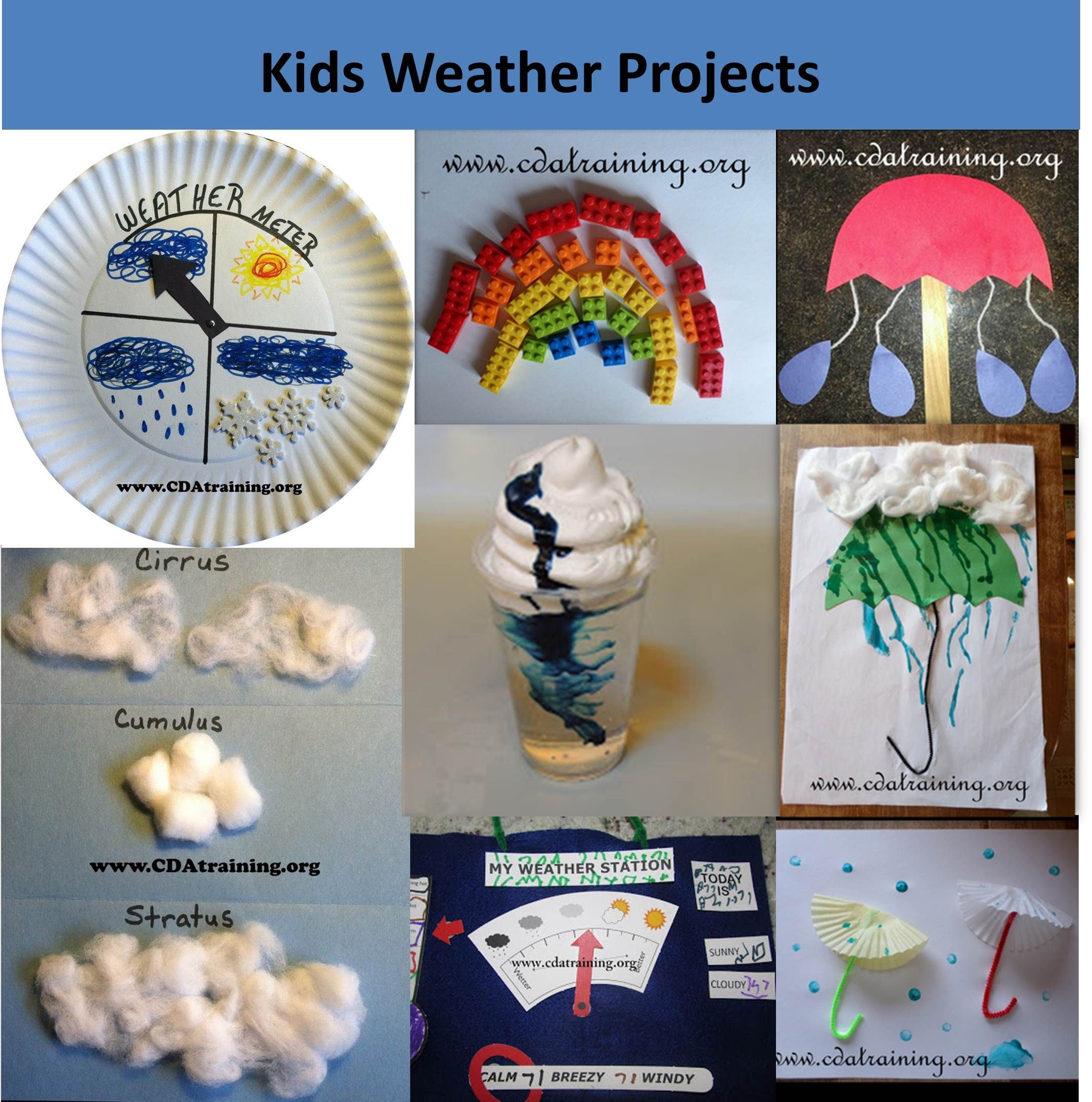 Kids Weather Projects