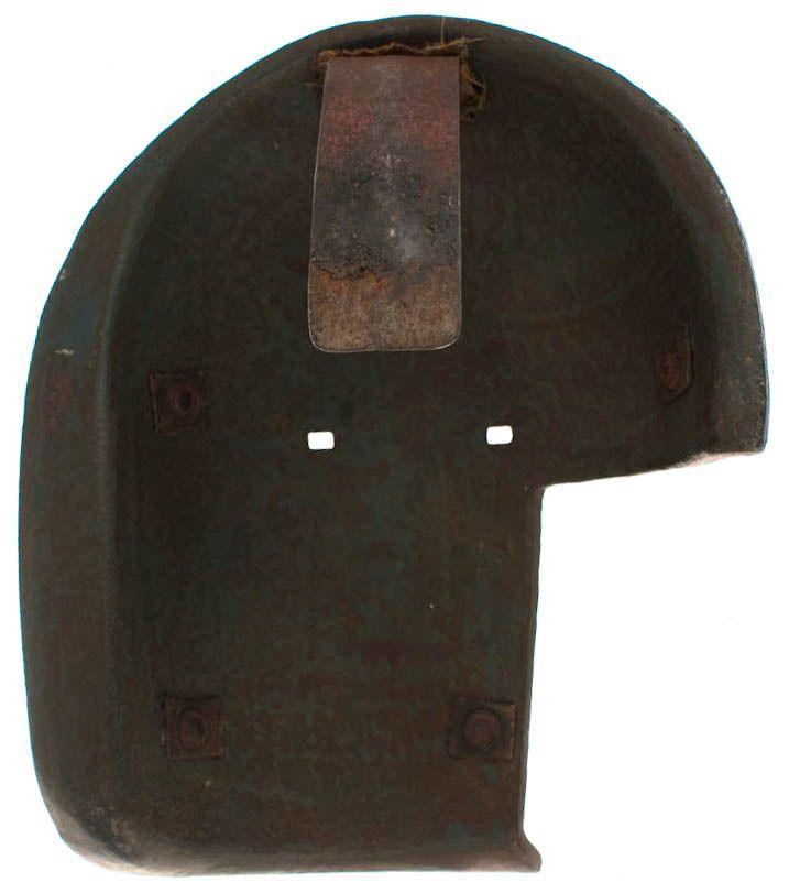 WW1 German Sniper Elephant Mask Interior