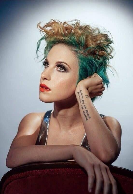 ♡♡♡ #Paramore #HayleyWilliams #EnanaHermosa #WeAreParamore #Rock #Música