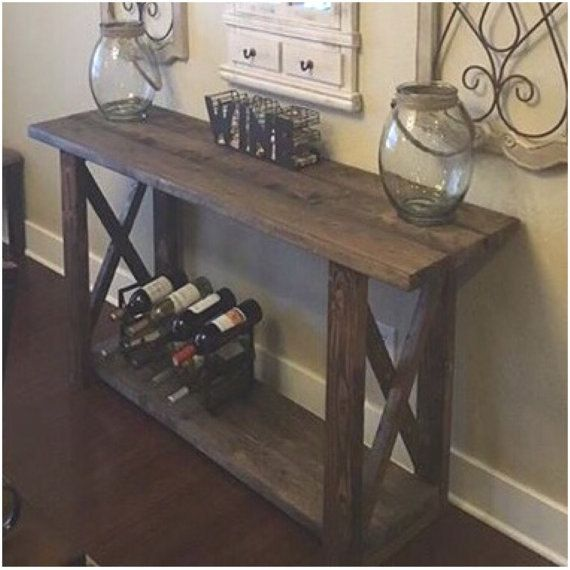 25 Editorial Worthy Entry Table Ideas Designed With Every: Entryway Table / Console Table / Farmhouse Decor By
