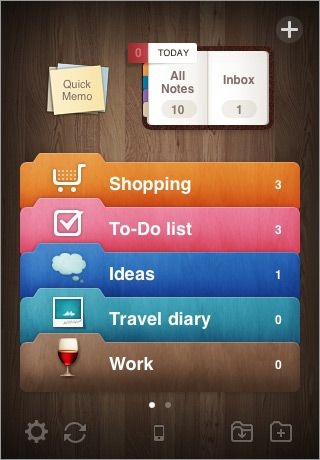 Awesome Note (+Todo/Calendar) (for iPhone) | That's cool | Cool tech