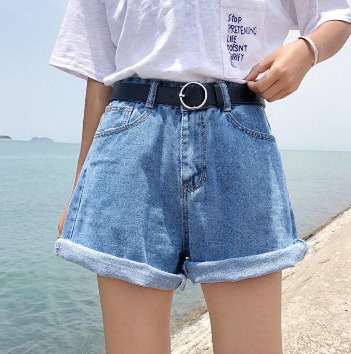 NOP Girls U Pants Denim Americus AOP Jeans