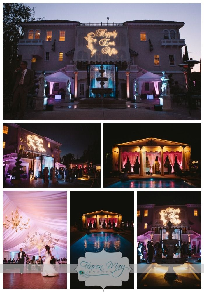 Grand Island Mansion Wedding, Fearon May Events, XSIGHT Photography, Mansion Weddings, Teal & Purple Wedding, Rock Star Wedding, VIP Wedding Decor. Wedding Decor, DJ Chandelier, Tree Decor, Wedding Design, Purple Wedding Decor, Wedding Lighting.