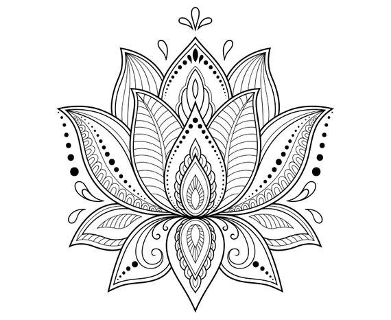This Item Is Unavailable Lotusflower Lotus Flower Lotus Mandala Zentangle Silhouette Svg Graphics In 2020 Lotus Flower Drawing Lotus Flower Mandala Henna Drawings