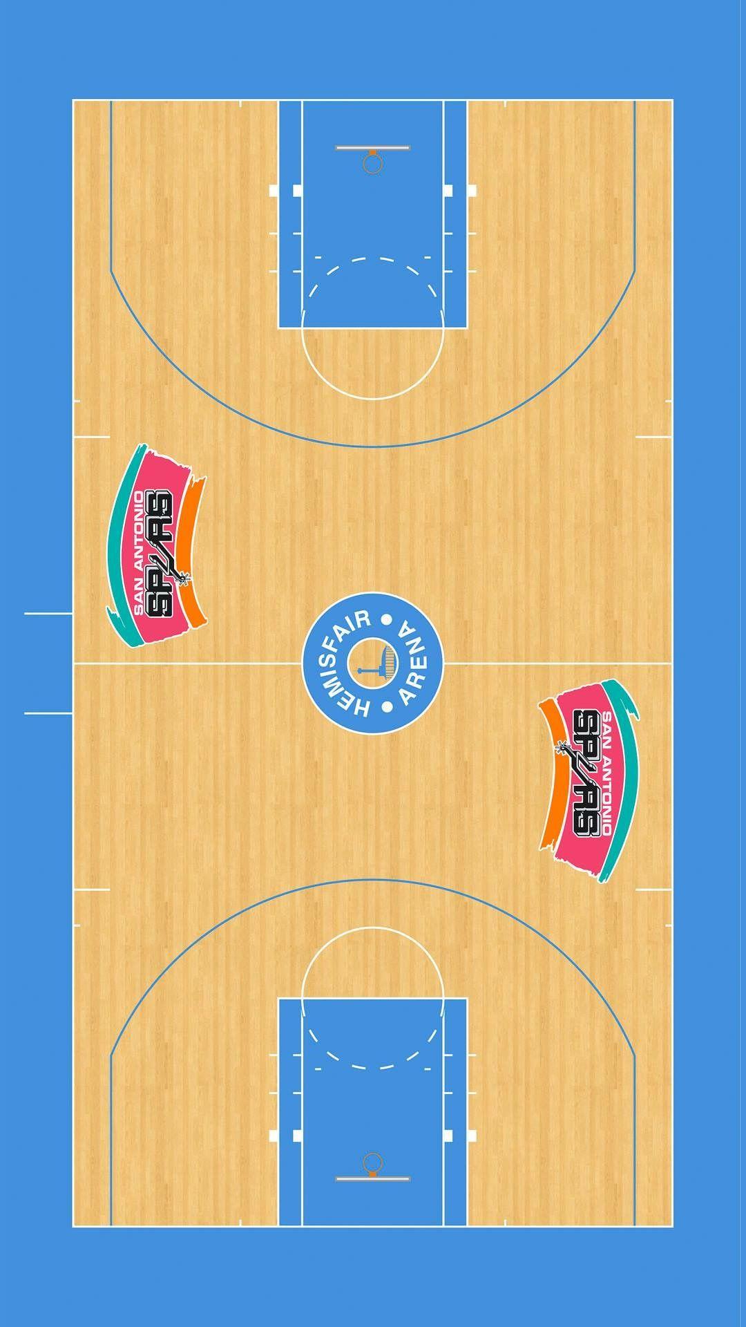 Hemisfair Court Nba Basketball Nba Nba Teams