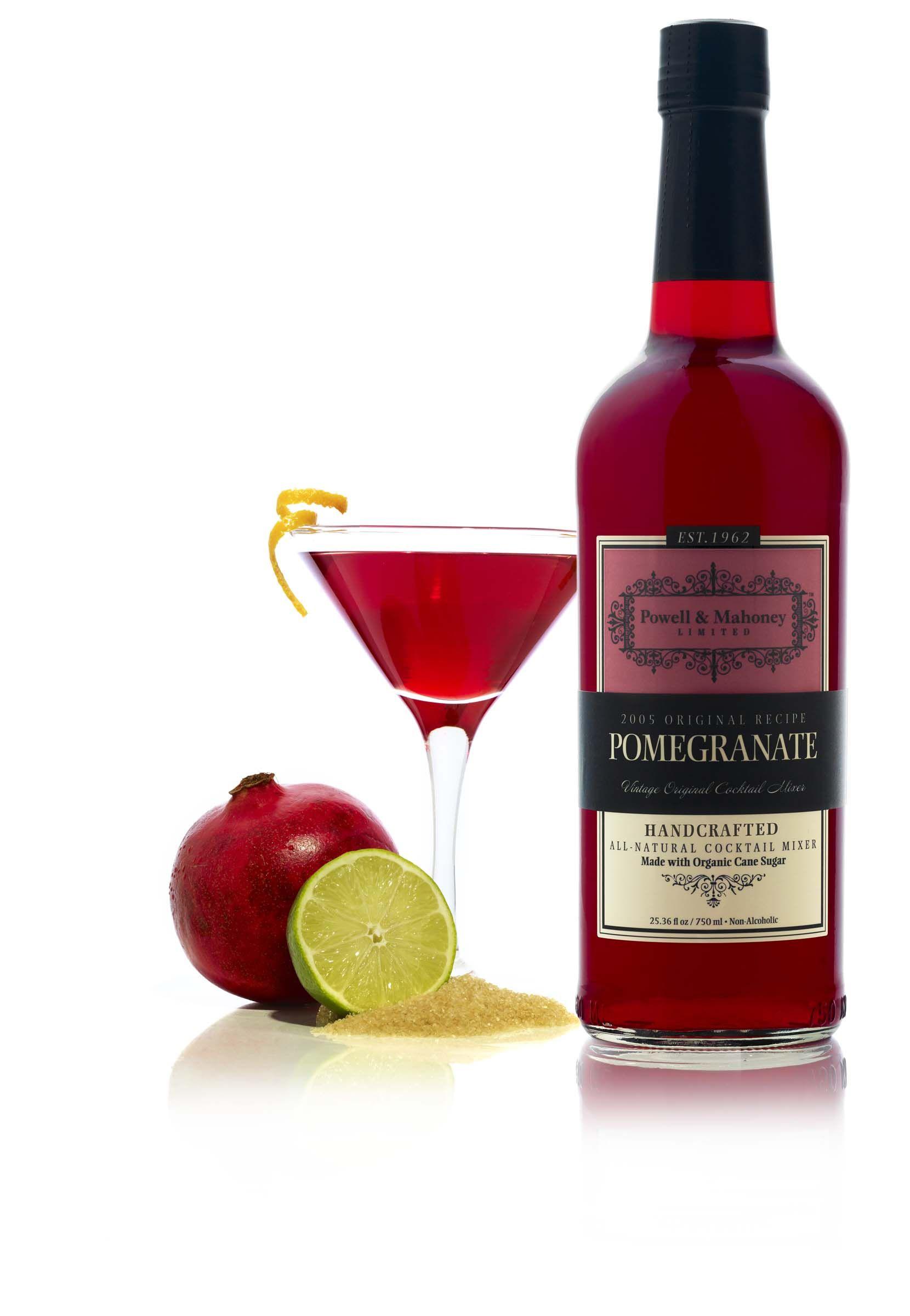 Pomegranate Full Case Cocktail Mix Set Ginger Cocktails Pomegranate Cocktails