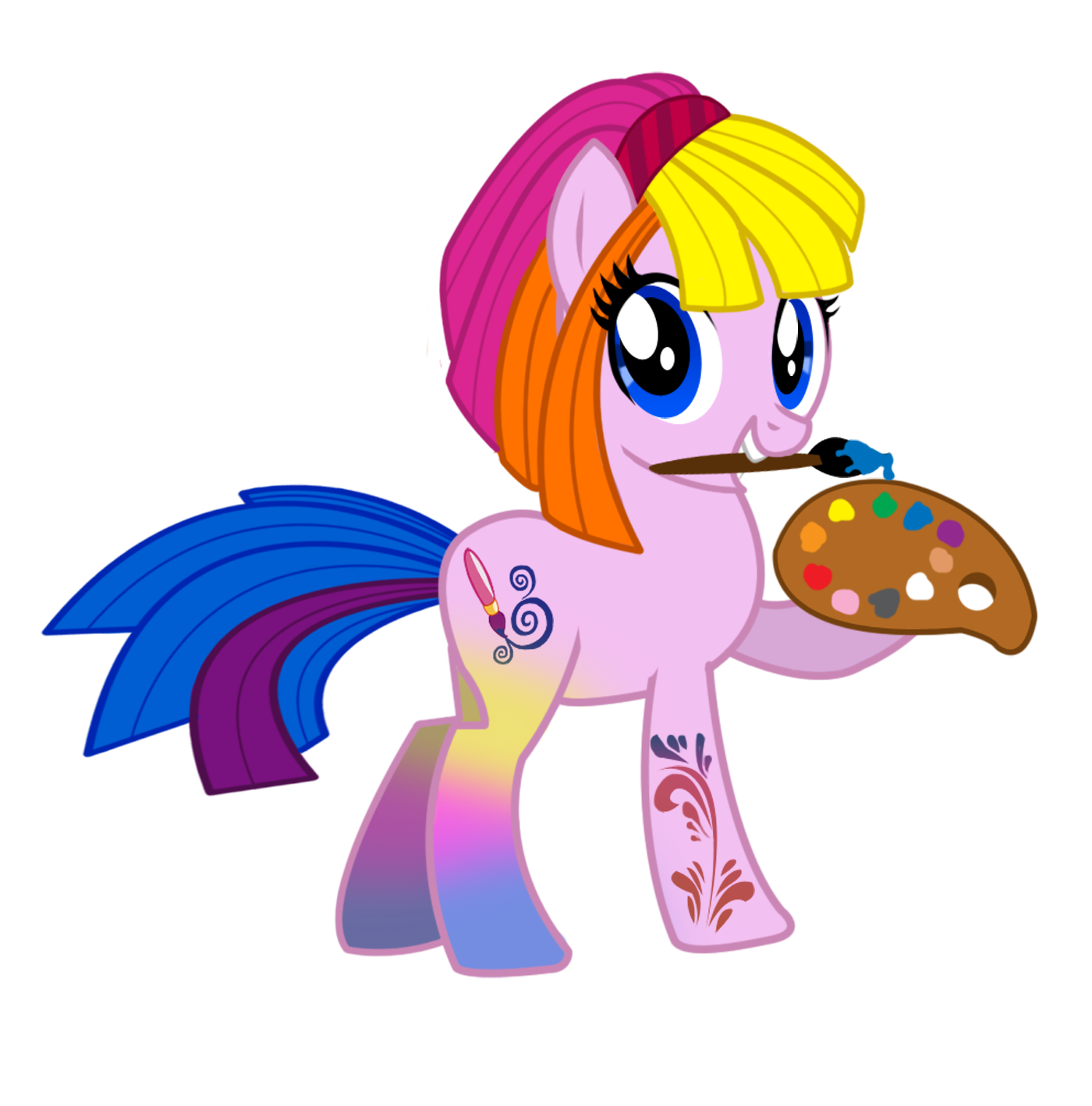 Ausmalbilder My Little Pony Discord : G3 Toola Roola My Little Pony In G4 Style By Pinkanon Deviantart