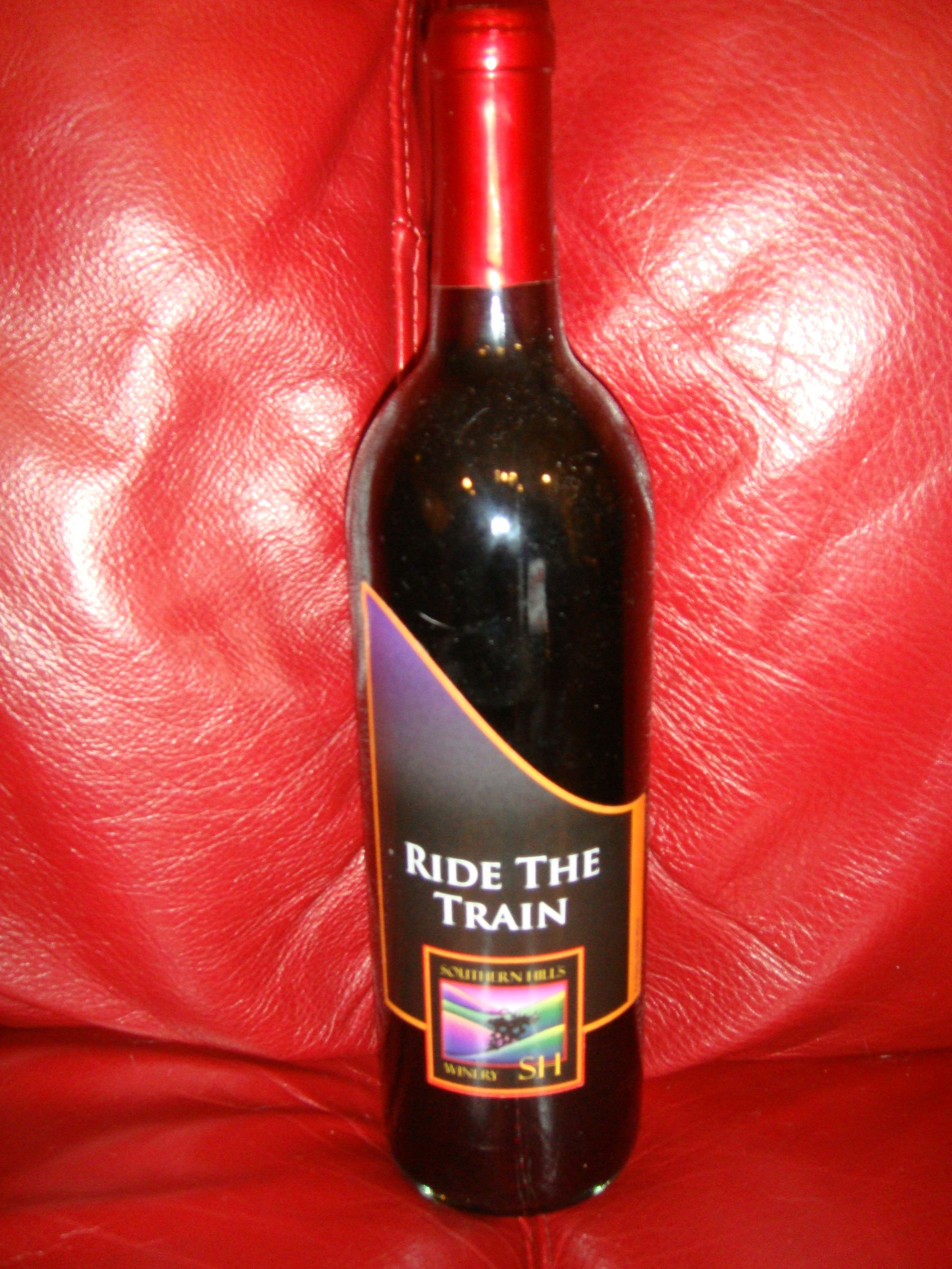 Ride The Train By Southern Hills Winery In Osceola Ia Wine Bottle Distillery Red Wine