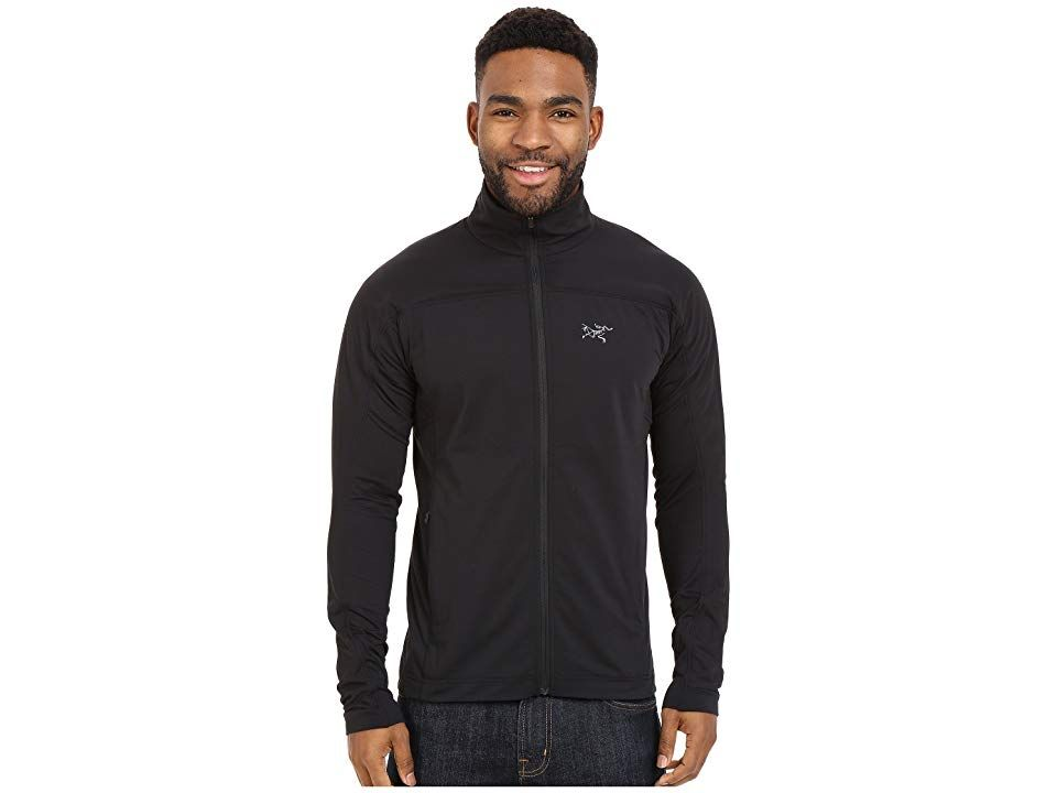 8909fd789f53 Arc teryx Stradium Jacket (Black) Men s Coat. For warm-up to cool-down the  high mobility and breathability of the Stradium Jacket will get you ready  for the ...