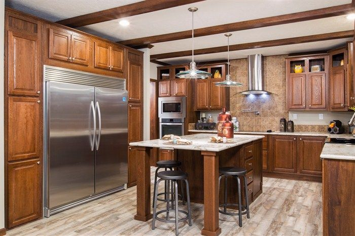 M175 TERMINATOR V 32X64 | Houses | Clayton homes, Kitchen pictures