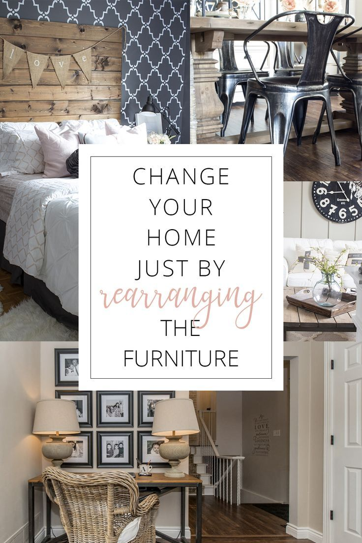 Rearrange the Furniture for a New Look (Love Your Home Day 15 ...